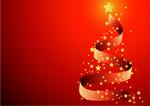丝带圣诞树