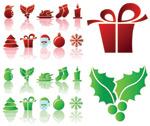 简约圣诞节图标