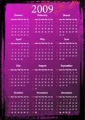 2009花纹日历