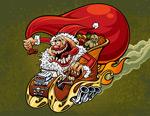 疯狂圣诞节老人