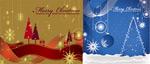 圣诞节装饰插画