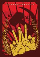 红色革命插画