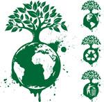 地球上生长大树