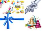 生日节庆丝带气球