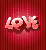 立体LOVE矢量