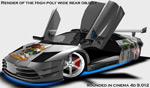 3D赛车模型
