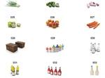 三维食材模型4