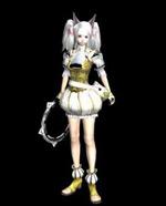 Game girl model