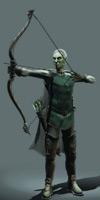 Game archer model