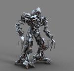 Megatron 3D material