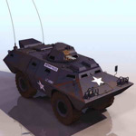 Armored vehicles, model 1