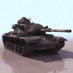 坦克3d模型3