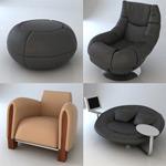 高档3D座椅模型
