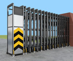 3D model of the electric sliding door