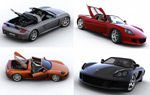 保时捷跑车3D模型