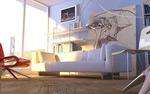 Interior design 3d material