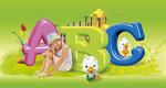 ABC外国儿童PSD
