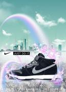 耐克运动鞋广告