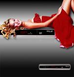 国外DVD机广告