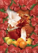 水果草莓背景