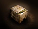 木箱psd分层素材