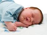 熟睡的婴儿