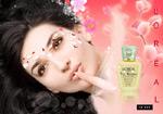 欧莱雅化妆品广告