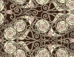 欧式花纹背景1
