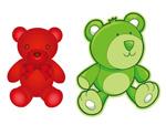 卡通玩具熊