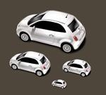 白色小汽车