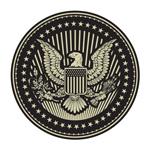 矢量鹰徽章