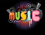立体music字