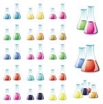 化学容器矢量