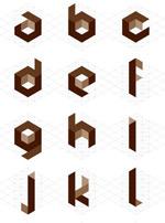 cube02矢量字体