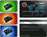 银行卡模板