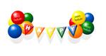 生日快乐气球