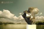 人面雕塑创意