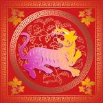 虎年春节PSD