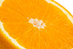 切开的橘子