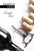 红酒与瓶塞