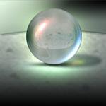 质感透明球体