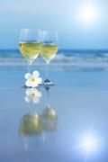 海边葡萄酒