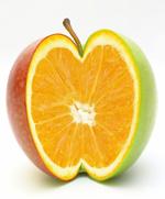 苹果橙子结合