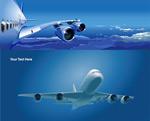 飞机矢量素材