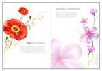 花朵版式设计