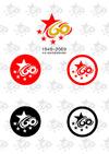 国庆60周年标志