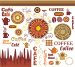 咖啡艺术矢量