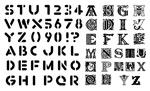 字体元素矢量