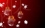圣诞节挂球矢量1