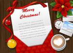 圣诞丝带信封
